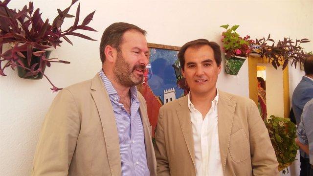 José Antonio Nieto con Adolfo Molina