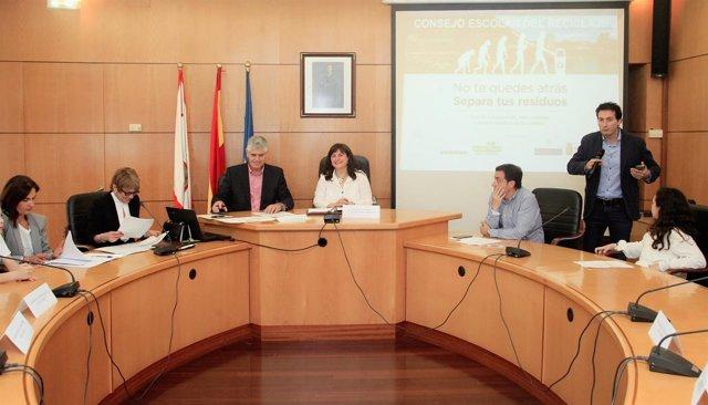 Presentación de la campaña de Cogersa en Carreño.