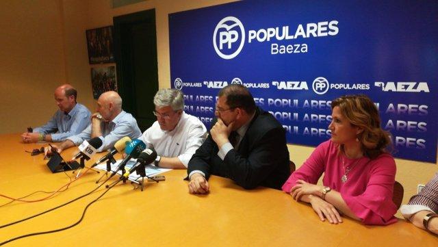 Rueda de prensa de Fernández de Moya