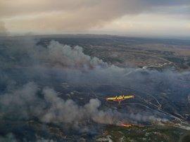 El presupuesto para incendios forestales se incrementa en Aragón en 3,7 millones de euros