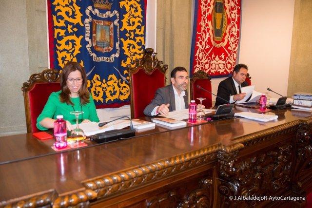 Pleno del Ayuntamiento Cartagena