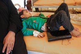 """UNICEF llama a """"hacer más"""" para evitar que continúe la rápida propagación del cólera en Yemen"""