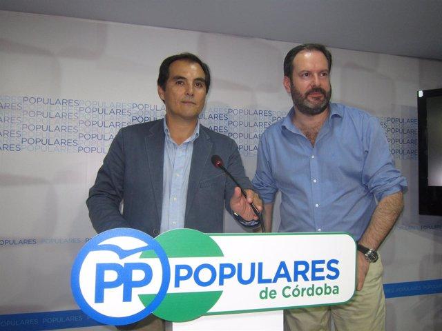José Antonio Nieto y Adolfo Molina