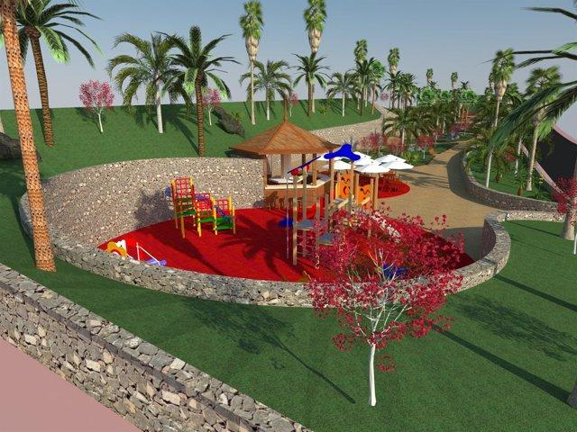 Parque de Opuntia