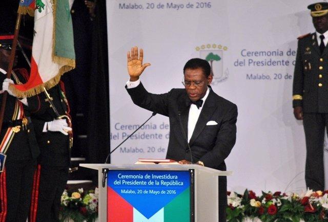 Teodoro Obiang toma posesión de un nuevo mandato en Guinea Ecuatorial