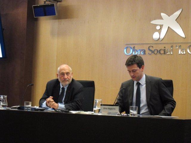 Joseph Stiglitz y Oriol Aspachs