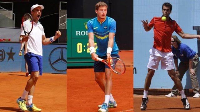 Bautista, Carreño y Ramos se meten en octavos de Roland Garros