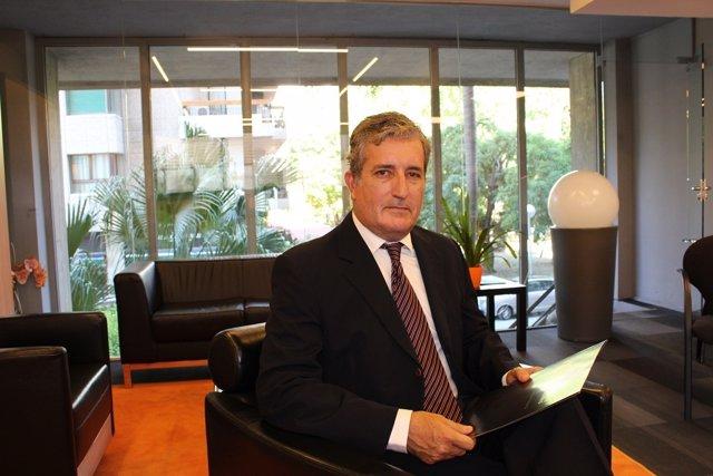 El ceo de Spanish Legal Reclaims, Luis Cuervo