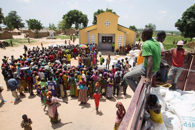 Desplazados esperan a recibir ayuda en RCA
