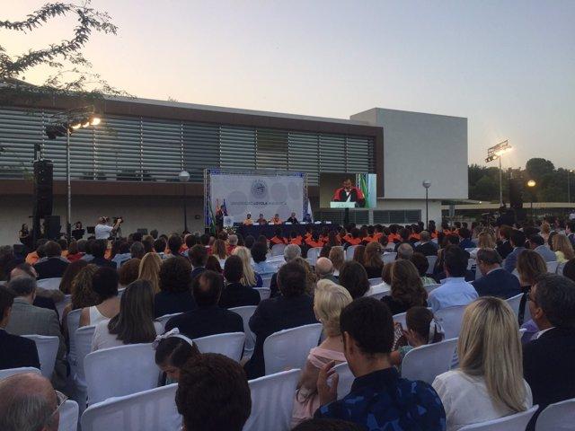 Graduación de los primeros estudiantes de la Universidad Loyola Andalucía