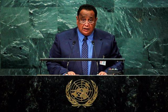 El ministro de Asuntos Exteriores de Sudán, Ibrahim Ghandour.