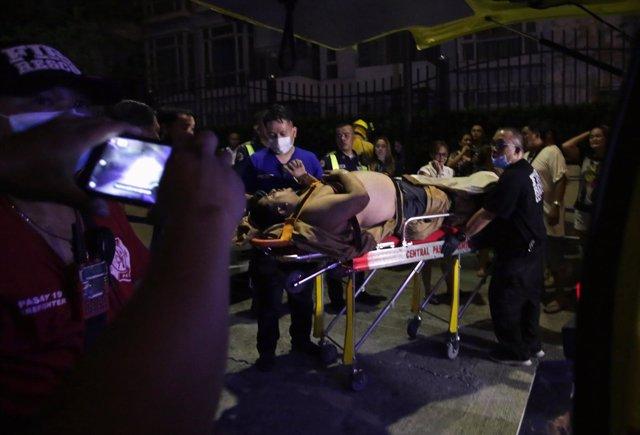 Asalto en un complejo de ocio de Manila, Filipinas