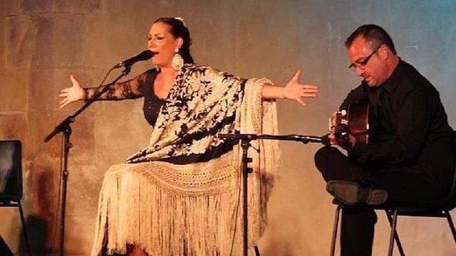 Actuación de archivo de Cazorla Flamenca