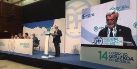 El PP de Gipuzkoa da inicio a su XIV Congreso en el que Borja Sémper será reelegido en el cargo