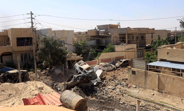 Consecuencias de los enfrentamientos en Mosul