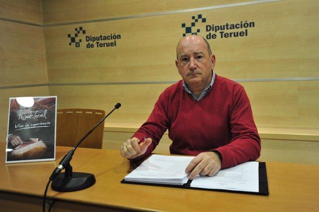 El diputado de Turismo de la Diputación de Teruel, Francisco Martí