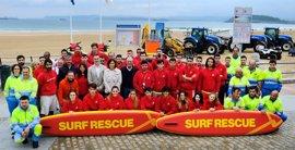 Más de 80 personas, en los servicios de socorrismo y limpieza de playas en Santander