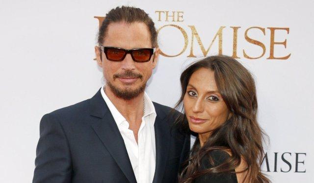 Chris Cornell y Vicky Cornell