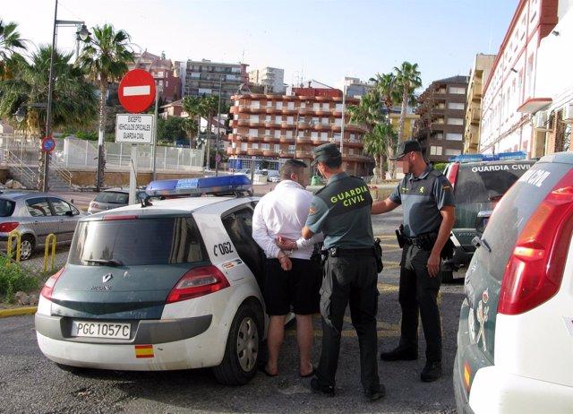 Imagen de la detención