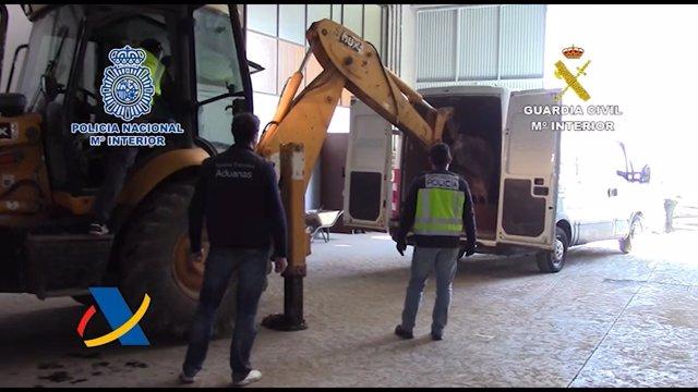 La operación se ha desarrollado con la colaboración de la Agencia Tributaria