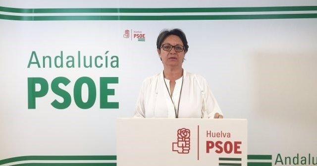 Maria Bella Martín del PSOE de Lepe