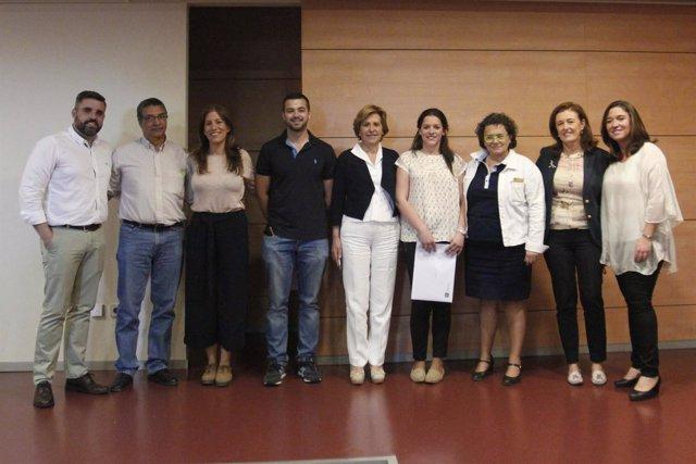 Acto celebrado en el Distrito de Atención Primaria Sevilla