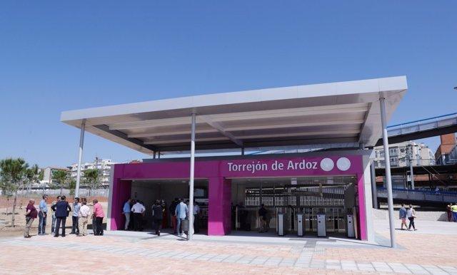 Nuevo acceso cercanías en Torrejón de Ardoz