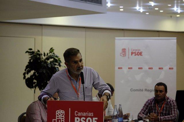 Nota + Fotos Psoe Canarias / Primarias 23 De Julio Y Congreso Regional 15, 16 Y