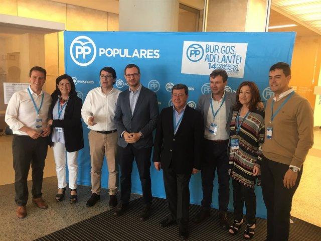Maroto en el Congreso del PP de Burgos