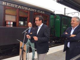 FGC inaugura el Montserrat Classic Express, el único tren restaurante turístico de Catalunya