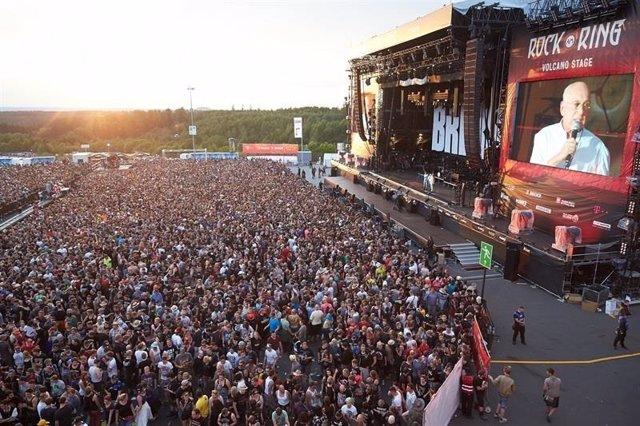 Imagen del festival 'Rock am Ring'