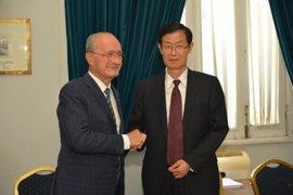 La Comisión Europea elige a Málaga para participar en el programa de cooperación urbana internacional con china