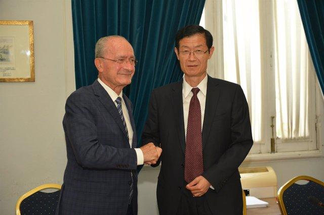 MÁLAGA  PARTICIPA EN EL PROGRAMA DE COOPERACIÓN URBANA INTERNACIONAL CON CHINA