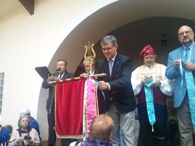 Guillén este sábado en Albalate del Arzobispo.
