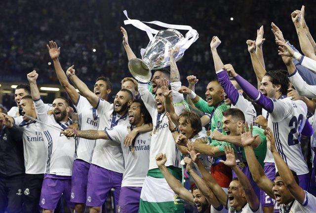El Real Madrid, campeón de Liga de Campeones
