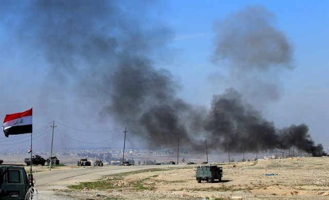 Fuerzas gubernamentales a las puertas de Mosul