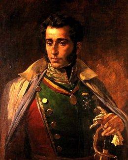 Antonio José de Sucre por Arturo Michelena