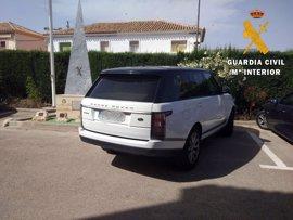Detenido en la A-7 a su paso por Sorbas (Almería) el conductor de un coche de alta gama robado en Marbella