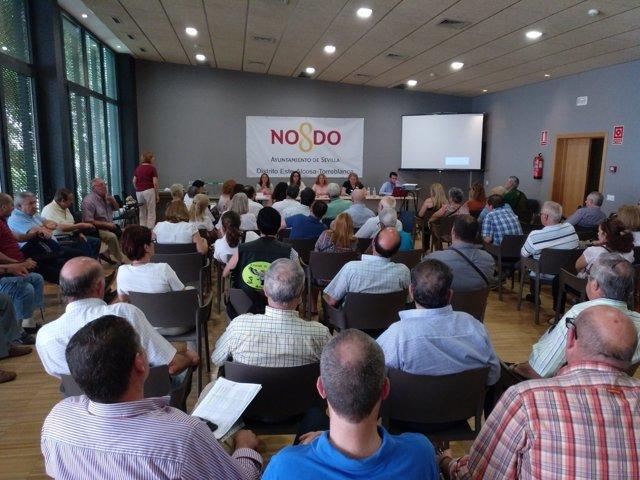 Votación de proyectos para inversiones en distritos de Sevilla