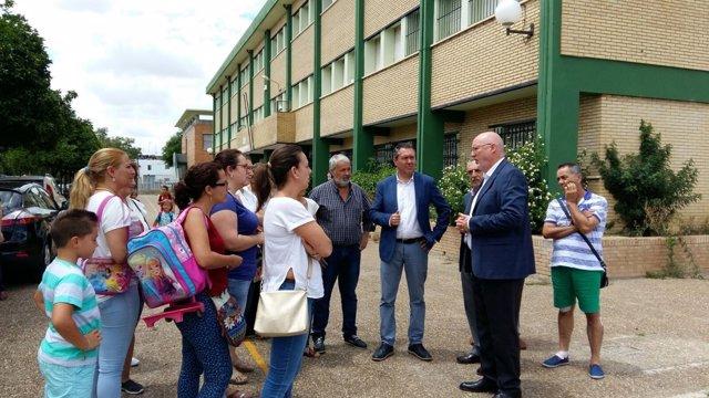 El Ayuntamiento realizará obras en verano en el CEIP 'San José de Palmete'