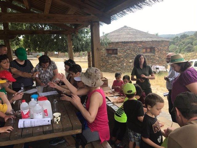Actividades celebradas en el Parque Nacional de Monfragüe