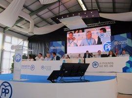 """El Congreso del PP de Badajoz arranca con la """"unidad"""" como """"nota predominante"""""""