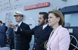 Cospedal destaca la colaboración entre España y Australia en materia de Defensa