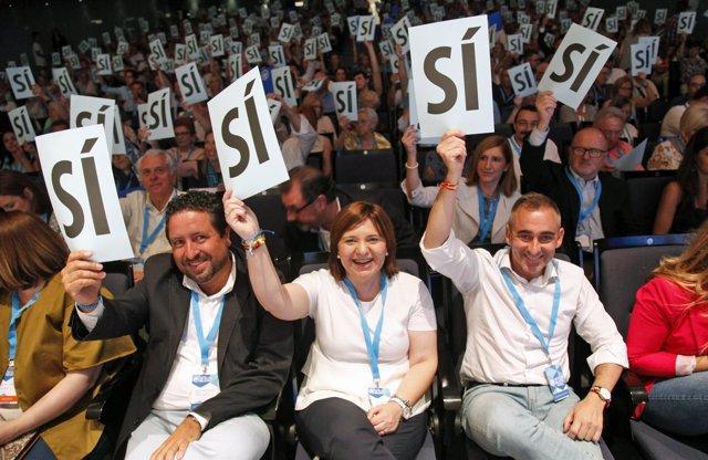 Los 'populares' en el 14 Congreso castellonense