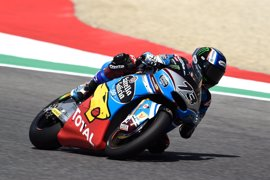 Pasini sorprende en Moto2 y Àlex Márquez termina tercero