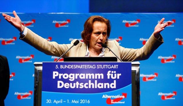 Beatrix von Storch, dirigente de la AfD alemana