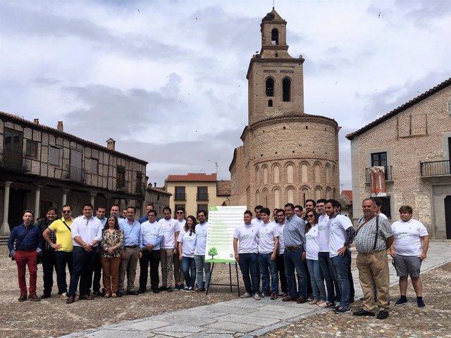 Nuevas Generaciones en Arévalo (Ávila)