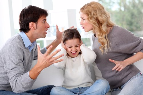 Una familia disfuncional es muy peligrosa para los niños.