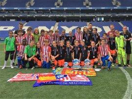 El Atlético de Madrid y el Valencia, campeones de la Danone Nations Cup 2017