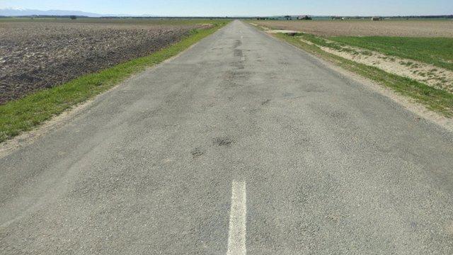 Segovia. Tramo de la A-601 en el que se realizarán las obras de mejora